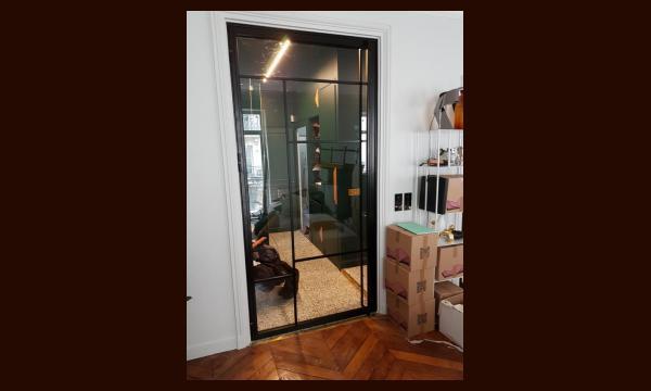 Porte intérieur vitré