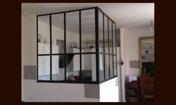 Séparation vitrée Type Atelier