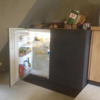 Meuble frigo + congélateur